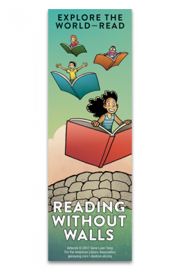 Reading Without Walls Bookmark