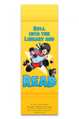 Roller Girl Bookmark