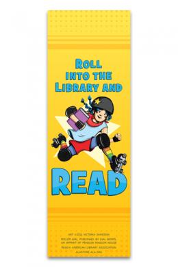 Roller Girl Bookmark