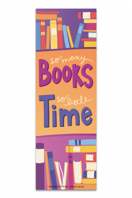 So Many Books Bookmark