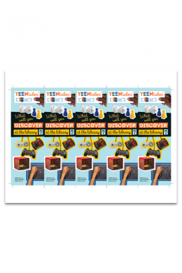 TeenTober Bookmark File