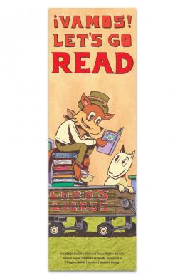 Vamos! Let's Go Read Bookmark