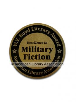 W.Y. Boyd Military Novel Award Seal