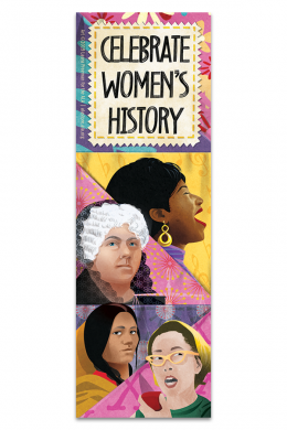 Women's History Bookmark