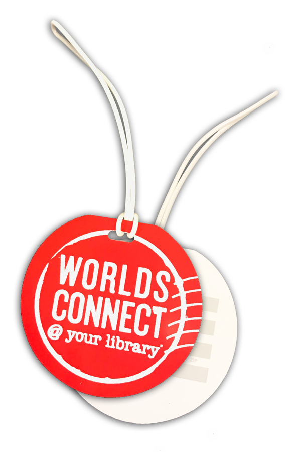 Worlds Connect Luggage Tags