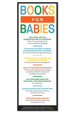 Books for Babies Rack Card File (English)