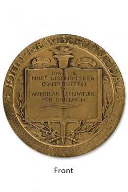 Newbery Medal Decor Front