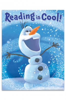 Olaf Reading is Cool Poster | ALA Store