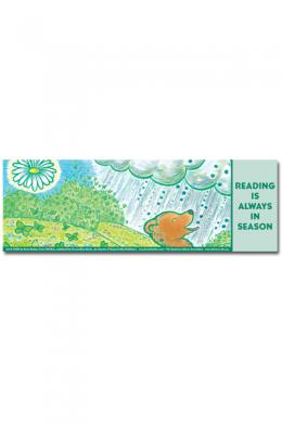 Old Bear Bookmark Summer
