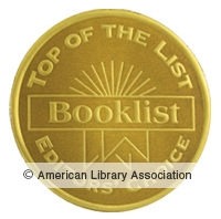 Booklist Top of the List Seal