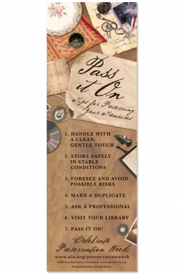 Preservation Bookmark