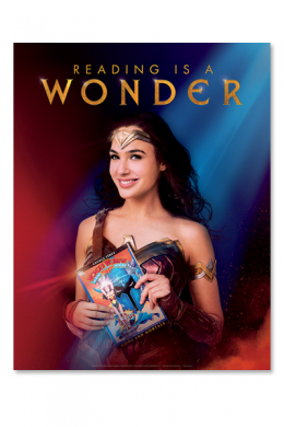 Reading is A Wonder Poster