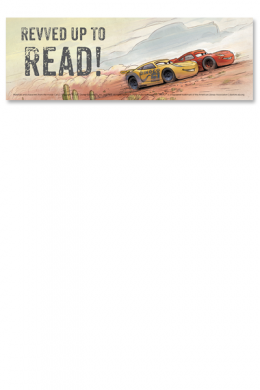 Revved Up to Read Bookmark