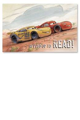 Revved Up to Read Poster