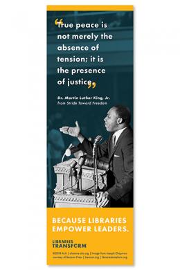 MLK Libraries Transform Bookmark