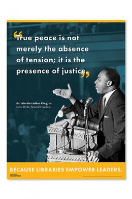 MLK Libraries Transform Poster