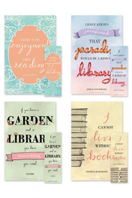 Well-said Poster and Bookmark Set