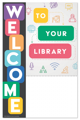 Welcome Library Mini Poster File