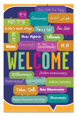Welcome Mini Poster