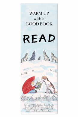 Wolf in the Snow Bookmark