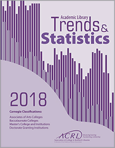 book covef for The complete data set from ACRL's comprehensive statistics-gathering project encompassing all academic libraries in one easy-to-use volume. Includes institutions in Carnegie classifications Associate of Arts degree granting, Master's Colleg