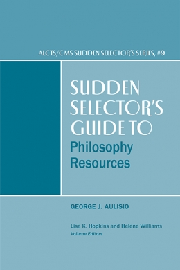 book cover for Sudden Selector's Guide to Philosophy Resources
