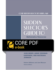 product image for Sudden Selector's Guide to Mathematics Resources