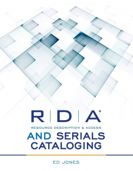 book cover for RDA and Serials Cataloging