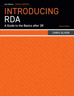 book cover for Introducing RDA: A Guide to the Basics after 3R, Second Edition