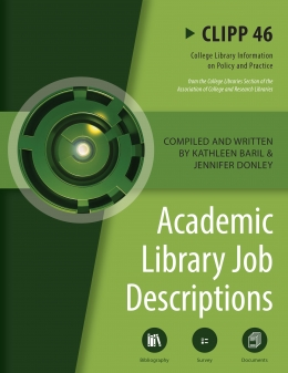 book cover for Academic Library Job Descriptions: CLIPP #46