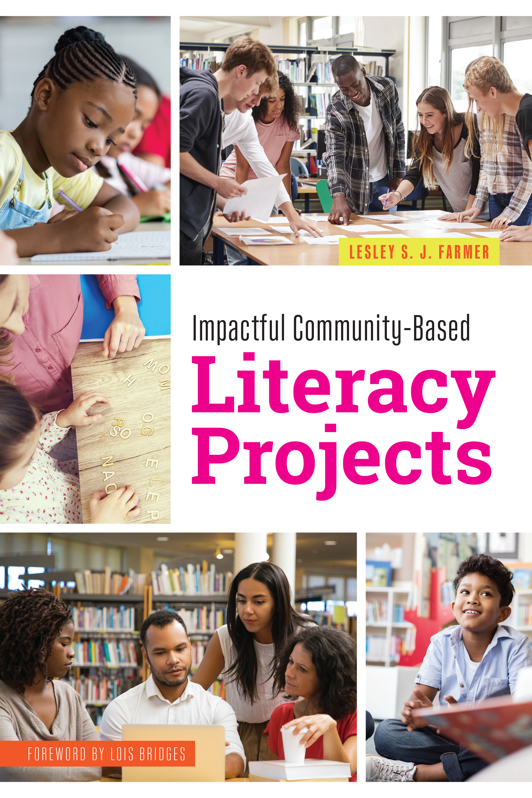 book cover for Impactful Community-Based Literacy Projects