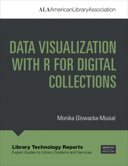book cover for Data Visualization with R for Digital Collections