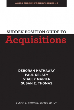 book cover for Sudden Position Guide to Acquisitions