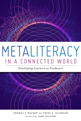 book cover for Metaliteracy in a Connected World