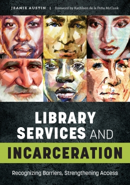 book cover for Library Services and Incarceration