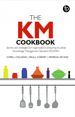book cover for The KM Cookbook