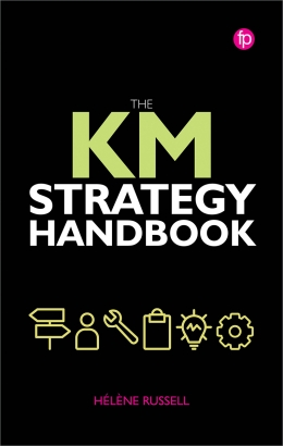 book cover for KM Strategy Handbook