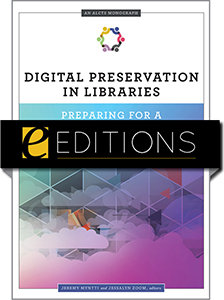 cover image for Digital Preservation in Libraries--e-book