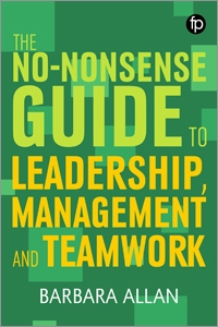 book cover for The No-nonsense Guide to Leadership, Management and Team Working