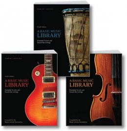 product image for 3-VOLUME SET of A Basic Music Library, Fourth Edition