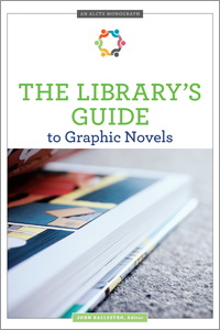 book cover for The Library's Guide to Graphic Novels