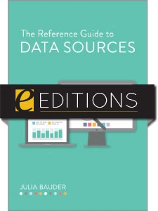 The Reference Guide to Data Sources—eEditions e-book