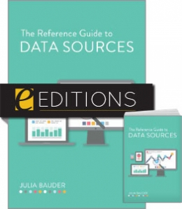 The Reference Guide to Data Sources—print/e-book Bundle
