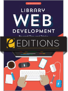 cover image for Library Web Development: Beyond Tips and Tricks--e-book