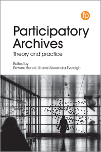 book cover for Participatory Archives