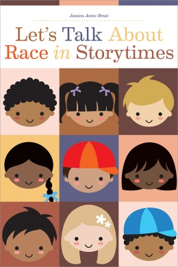 book cover for Let's Talk About Race in Storytimes