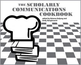 book cover for The Scholarly Communications Cookbook