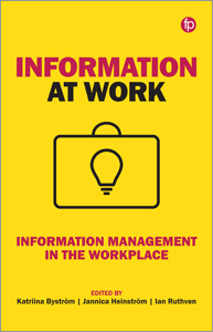 book cover for Information at Work