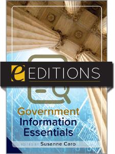 Government Information Essentials—eEditions e-book