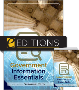 cover image for Government Information Essentials--print/e-book bundle